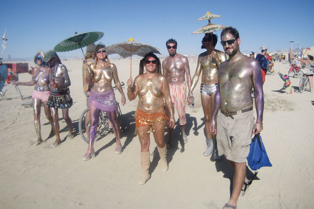 Postales de Burning Man