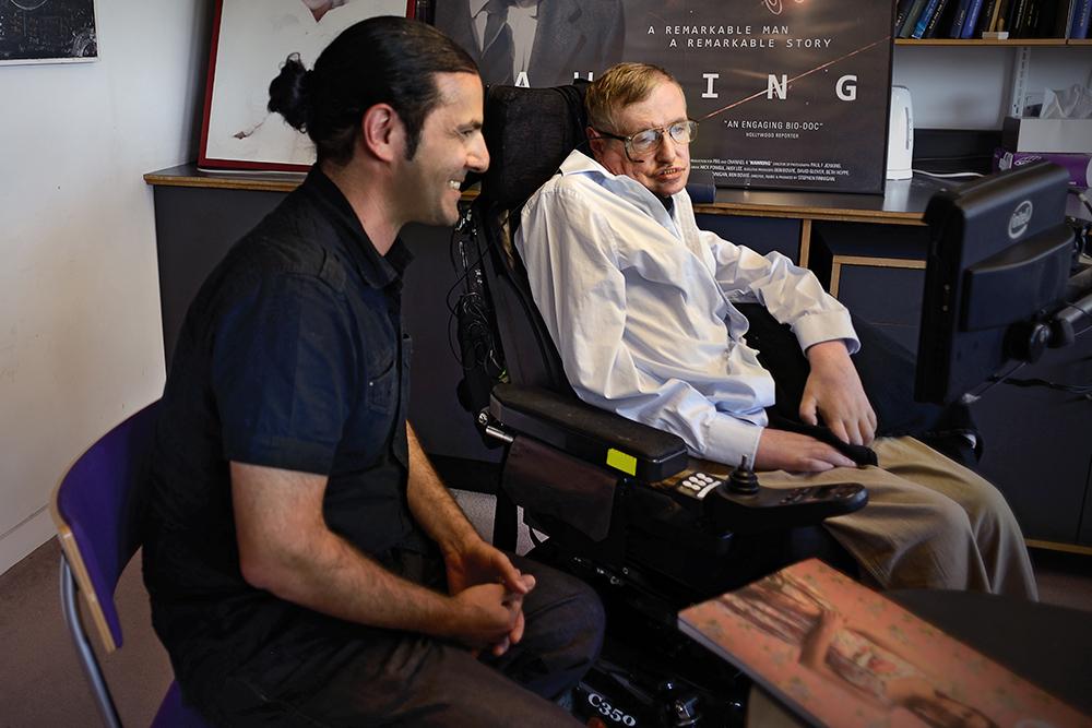 Dos horas con Stephen Hawking