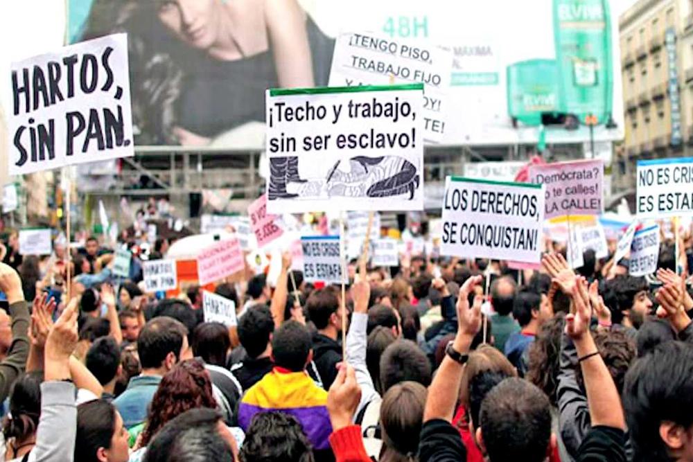 Autopsia del indignado español