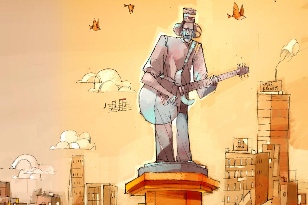 La guitarra de Santana