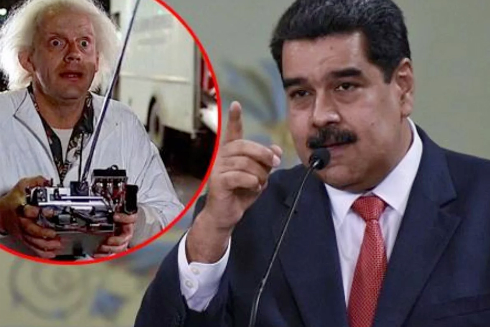 Maduro viajó al futuro y vio que todo va a andar muy bien