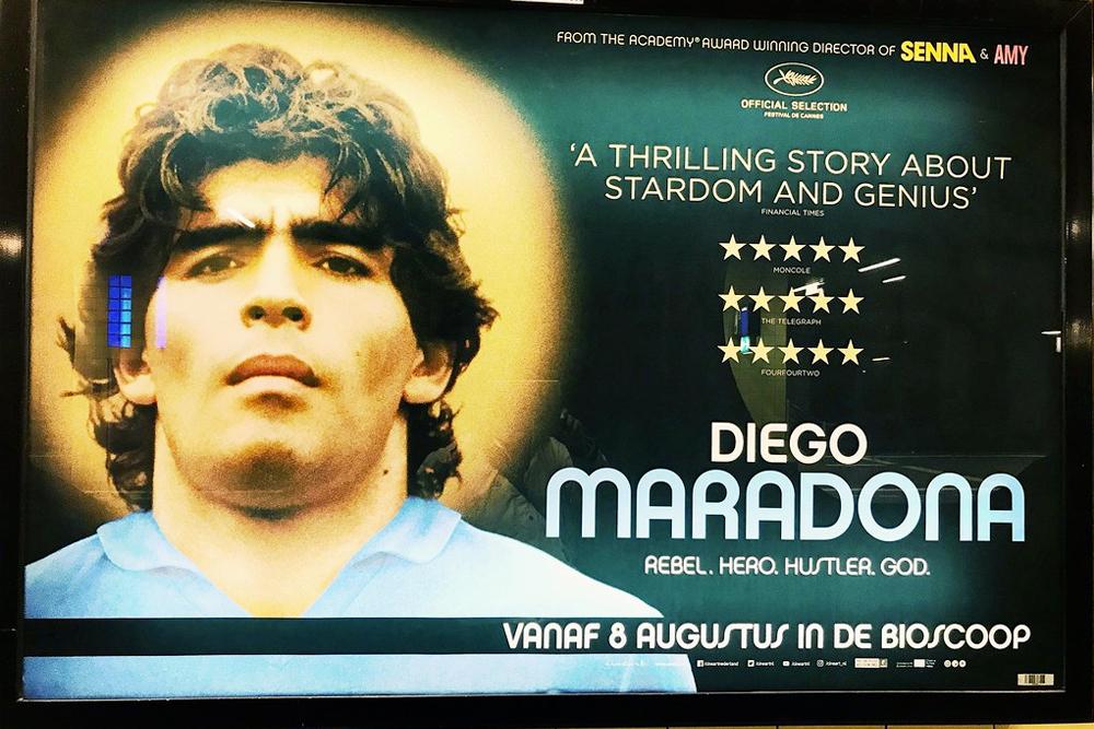 Nadie se destruye, solo Maradona