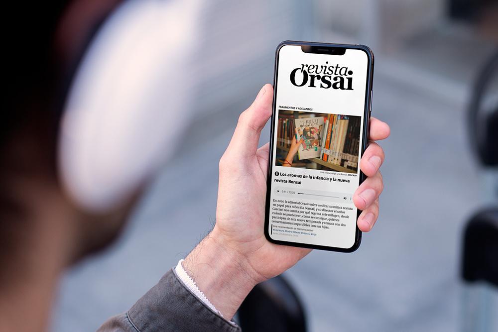 Convite para leer la Orsai Digital del 26 de diciembre