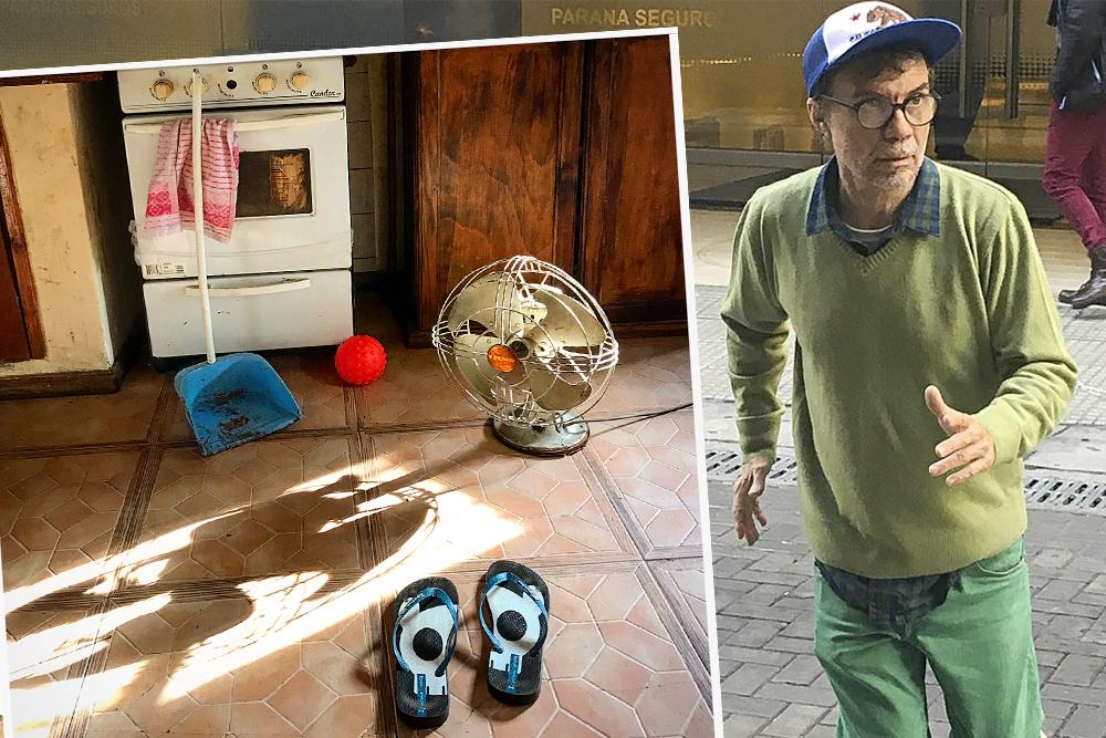 El fotógrafo Marcos López puso en Google «Alquiler, Casa, Costa Atlántica» y después pasaron cosas