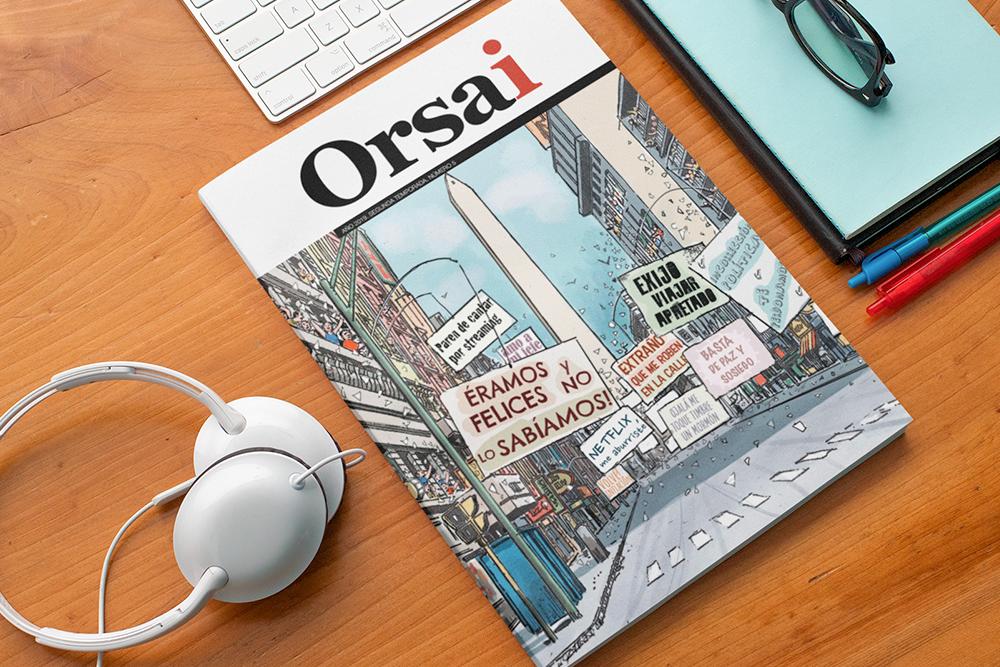 Empezó la preventa de la nueva edición de la Revista Orsai