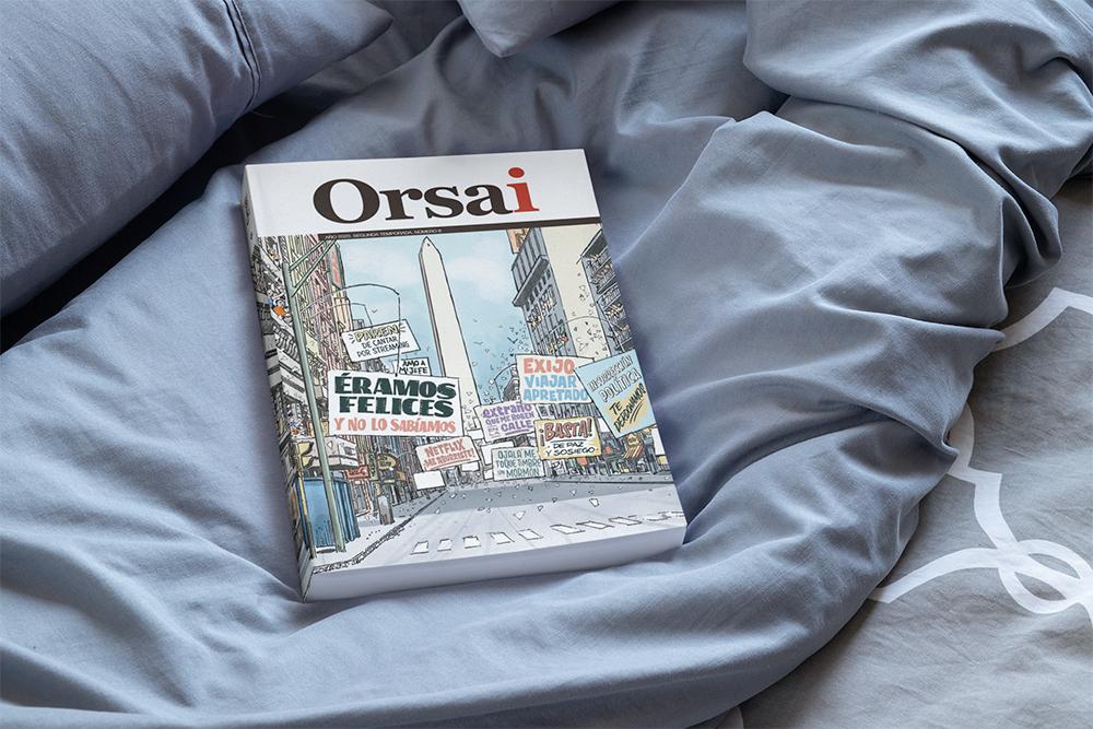 Ya está en la calle la nueva Revista Orsai Número 6